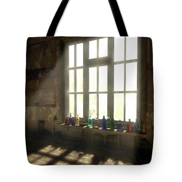 Sun Patch Tote Bag