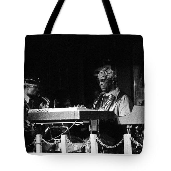 Sun Ra Arkestra At The Red Garter 1970 Nyc 31 Tote Bag