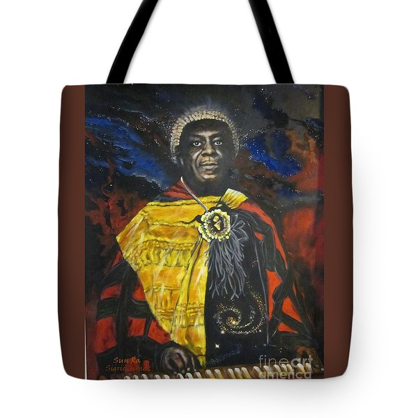 Sun-ra - Jazz Artist Tote Bag