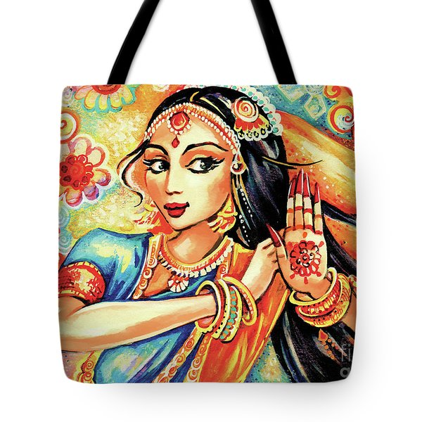 Sun Ray Dance Tote Bag