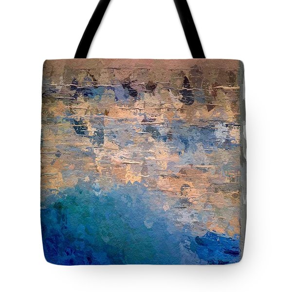 Sun Rays Abstract Tote Bag