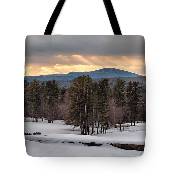 Sun Rays Tote Bag by Betty Pauwels
