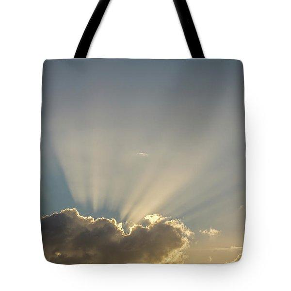 Sun Rays Tote Bag