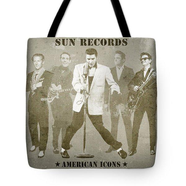 American Icons - Sun Records Tote Bag
