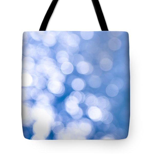 Sun Reflections On Water Tote Bag by Elena Elisseeva
