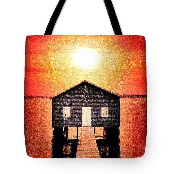 Sun Scars Tote Bag