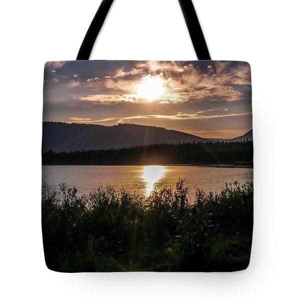 Sun Setting Tote Bag