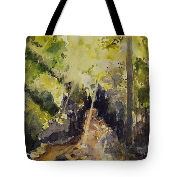 Sun Shines Through Tote Bag