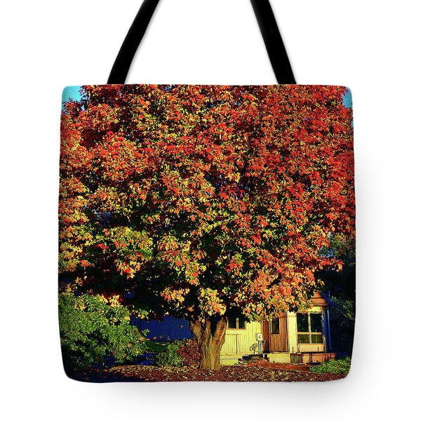 Sun-shining Autumn Tote Bag