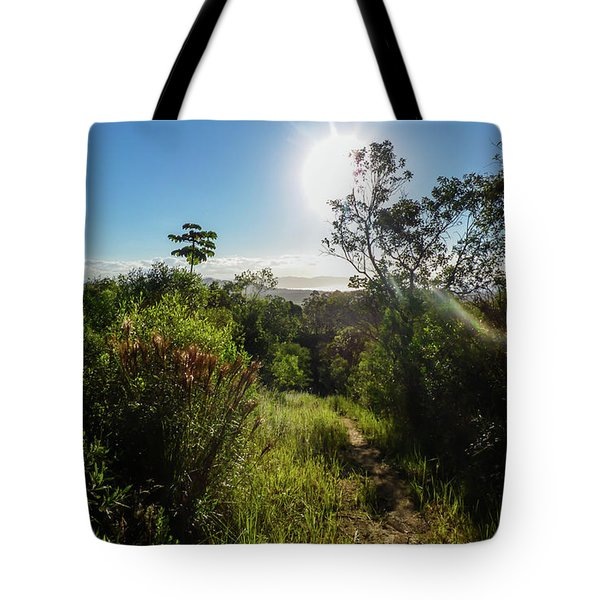 Sun Shining Over The Atlantic Forest Tote Bag