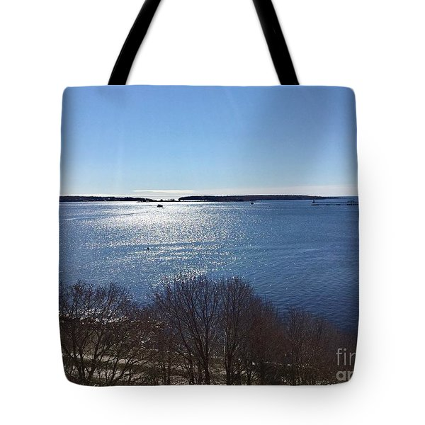 Sun Shiny Casco Bay Tote Bag