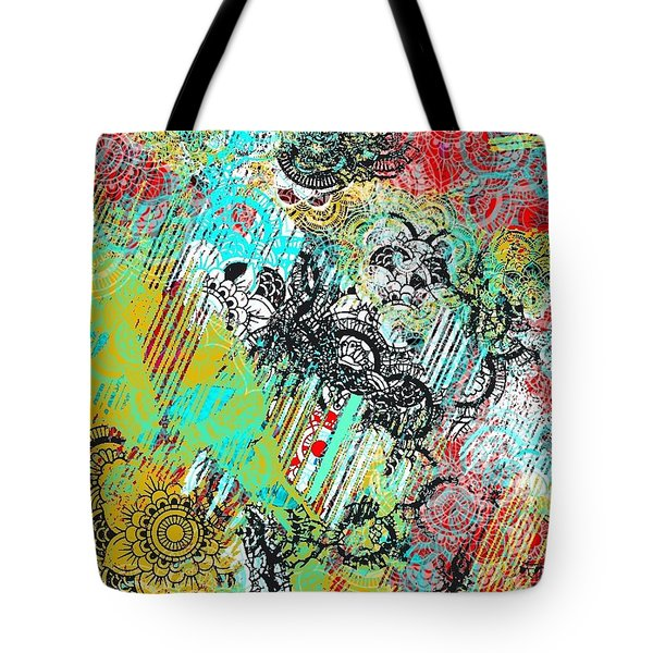 Sun Shower Tote Bag