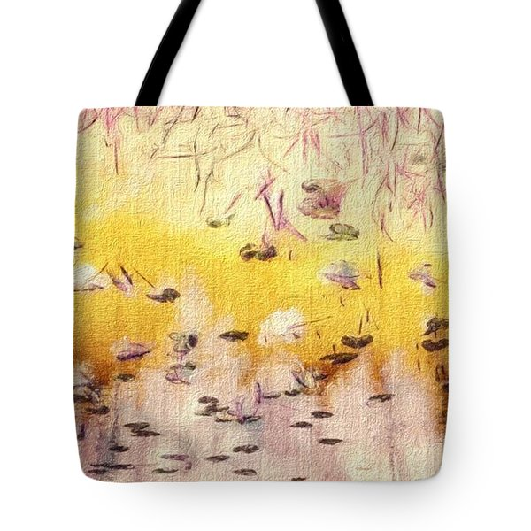 Sun Shower Tote Bag by William Wyckoff