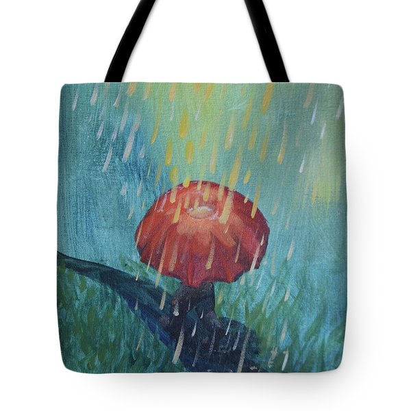 Sun Showers Tote Bag