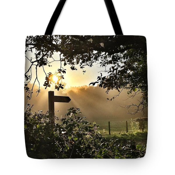 Sun Sign Tote Bag