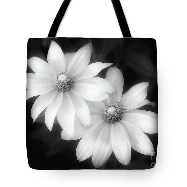 Sun Sisters In Black And White Tote Bag