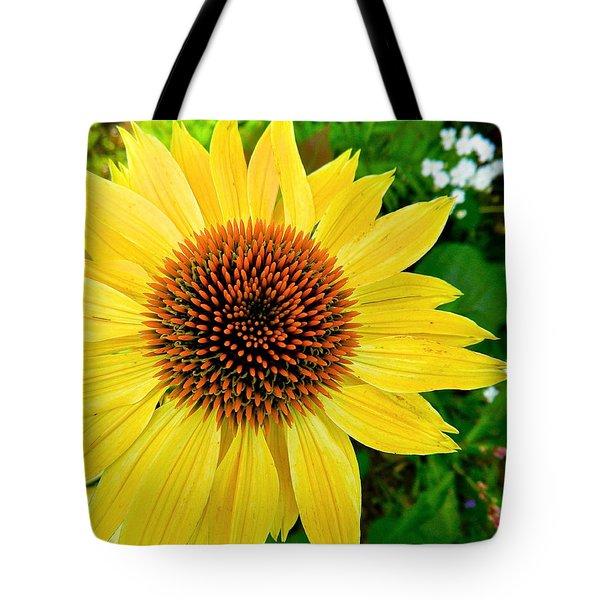 Sun Soaked Echinacea Tote Bag