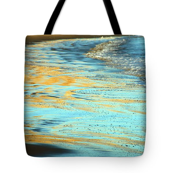 Sun Splashed Waves At Point Reyes National Seashore California Tote Bag