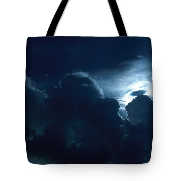 Sun Storm Tote Bag by John Glass