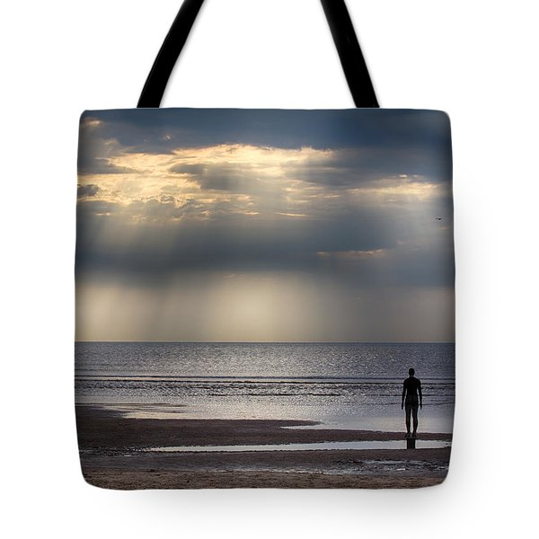 Sun Through The Clouds 2 5x7 Tote Bag