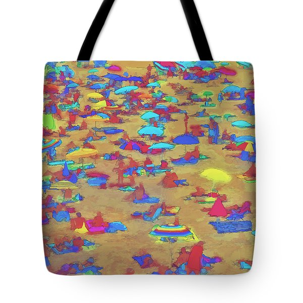 Sun Umbrellas Tote Bag