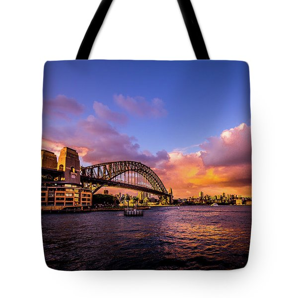 Tote Bag featuring the photograph Sun Up by Perry Webster