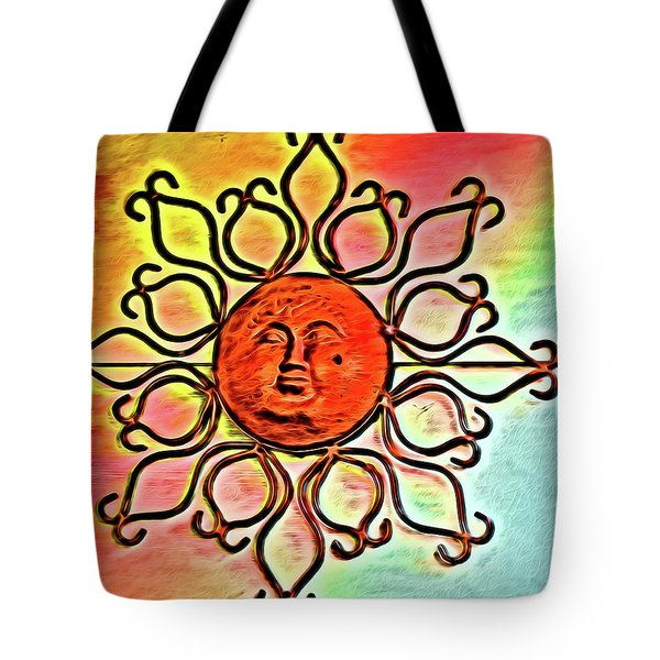 Sun Wall Decoration Tote Bag