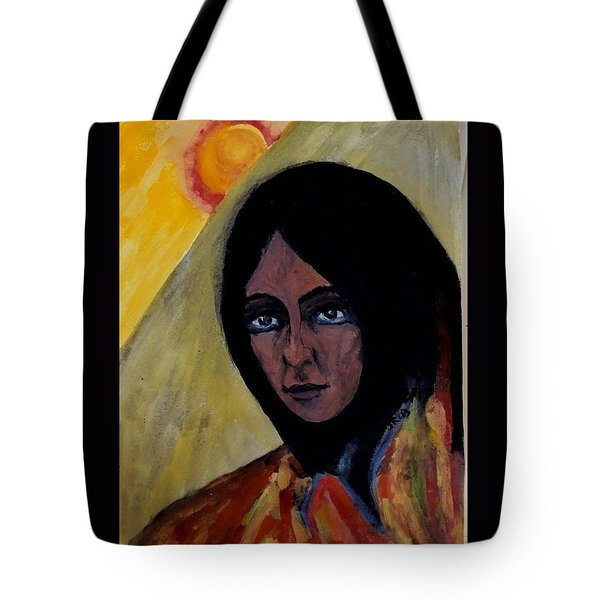 Sun Woman Tote Bag