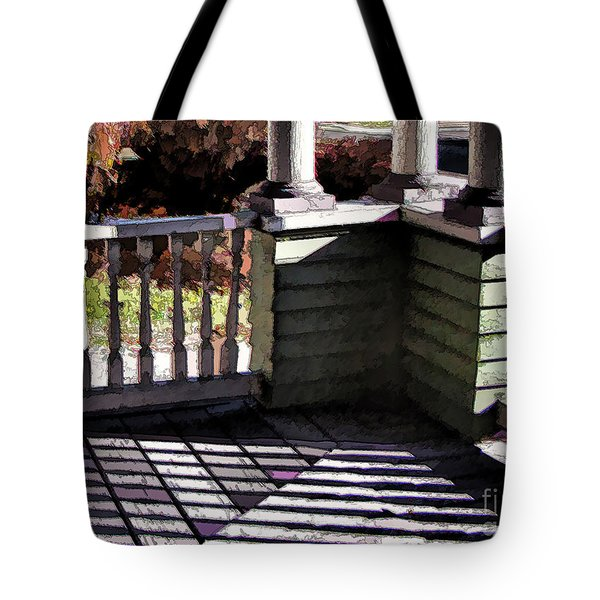 Sun Writ Tote Bag by Betsy Zimmerli