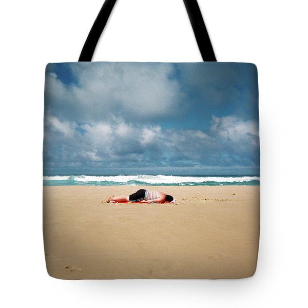 Sunbather Tote Bag
