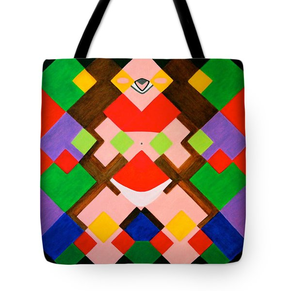 Sunbathing Tote Bag by Lorna Maza