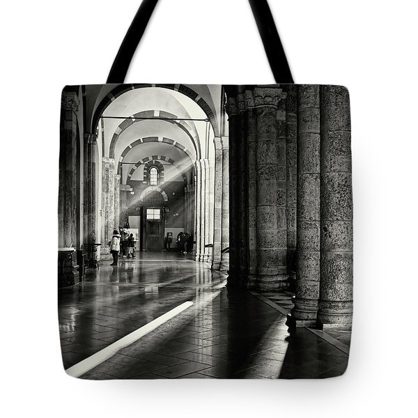 Sunbeam Inside The Church Tote Bag