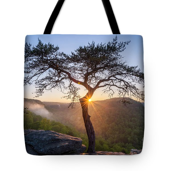 Sunburst Tote Bag by Anthony Heflin