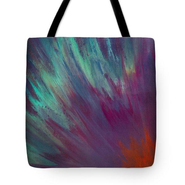 Sunburst Aura Tote Bag