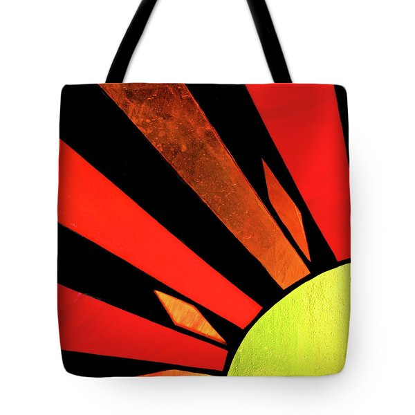 Tote Bag featuring the photograph Sunburst by Kristin Elmquist