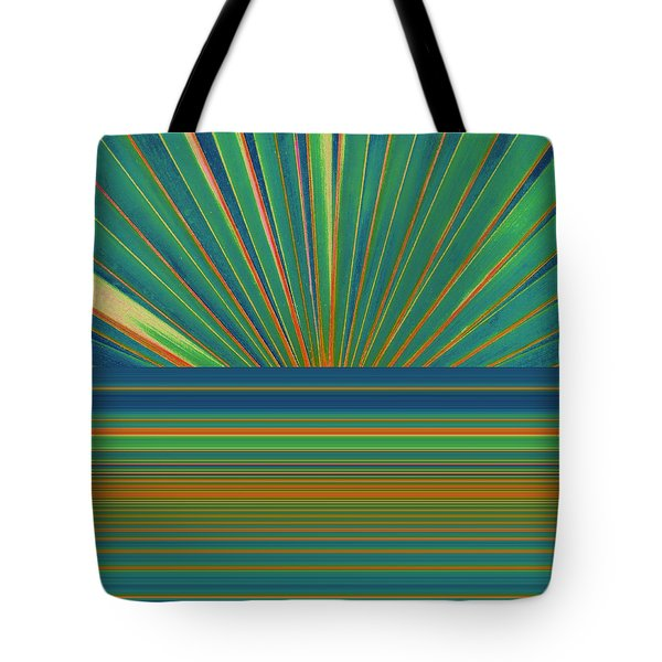 Tote Bag featuring the photograph Sunburst by Michelle Calkins