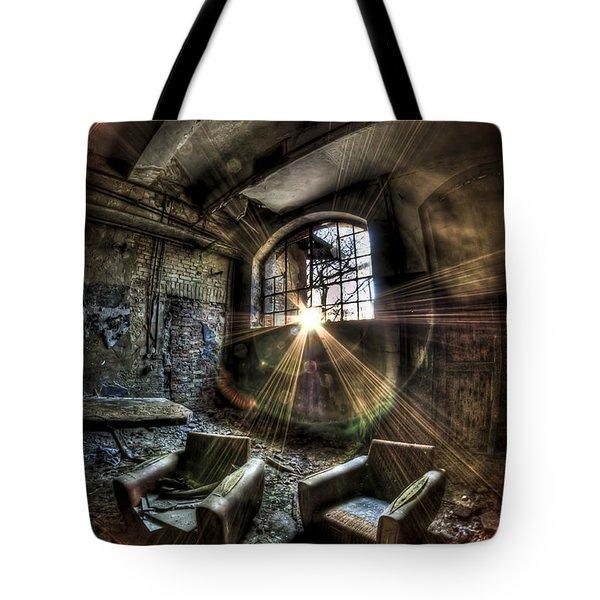 Sunburst Sofas Tote Bag