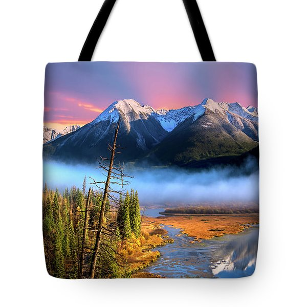 Tote Bag featuring the photograph Sundance by John Poon