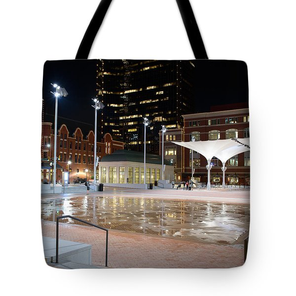Sundance Square Fort Worth 3 Tote Bag