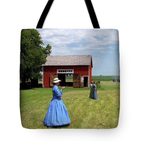 Sunday Afternoon At Chaplin Creek Tote Bag by Sue Stefanowicz