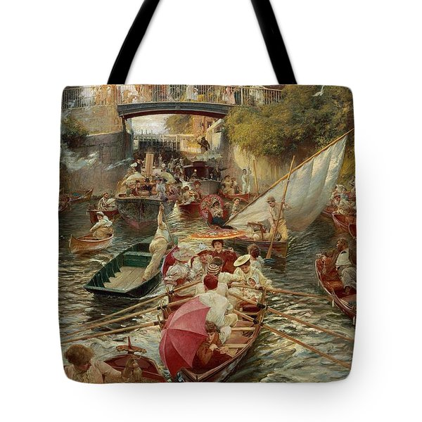 Sunday Afternoon Tote Bag by Edward John Gregory