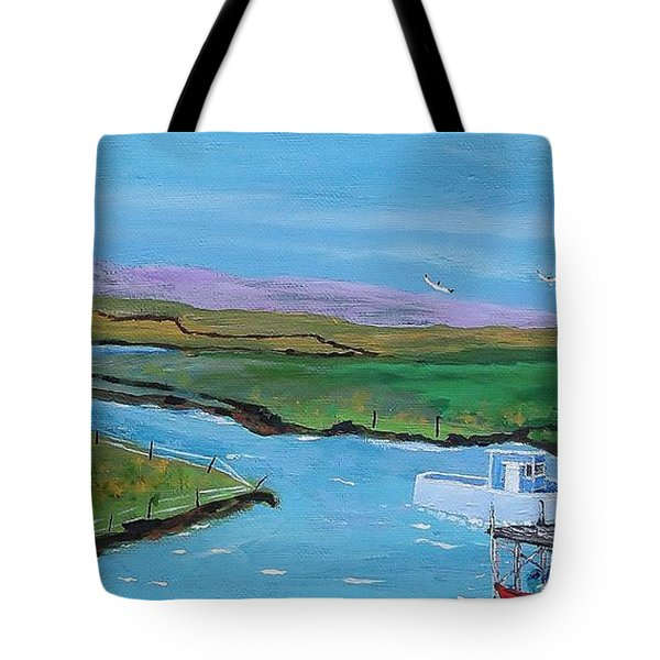 Sunday Afternoon On The California Delta Tote Bag