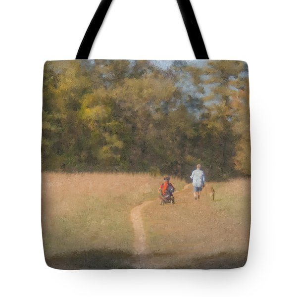 Sunday Afternoon Walk Tote Bag