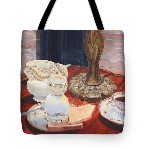 Sunday Breakfast Tote Bag
