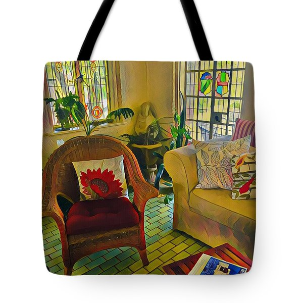 Sunday Chill  Tote Bag
