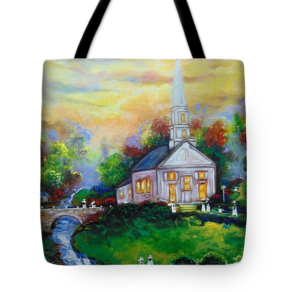 Sunday Tote Bag by Emery Franklin