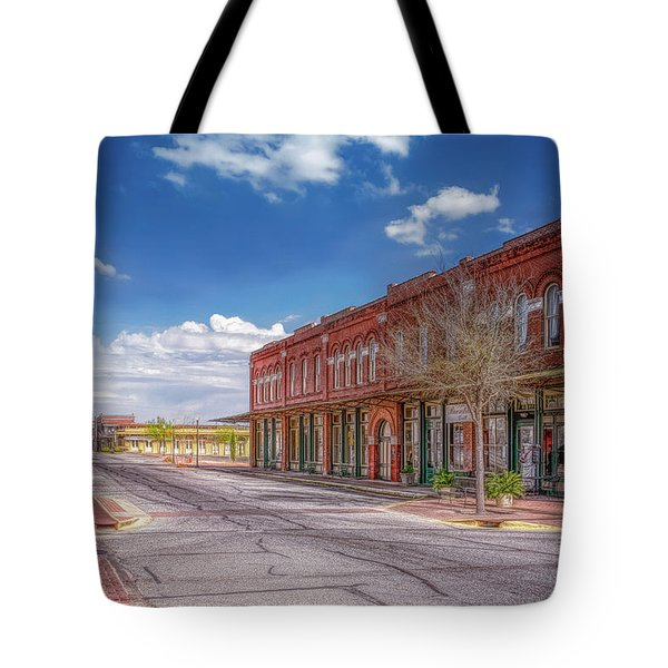 Sunday In Brenham, Texas Tote Bag