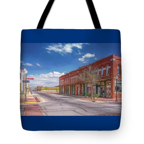 Sunday In Brenham, Texas Tote Bag