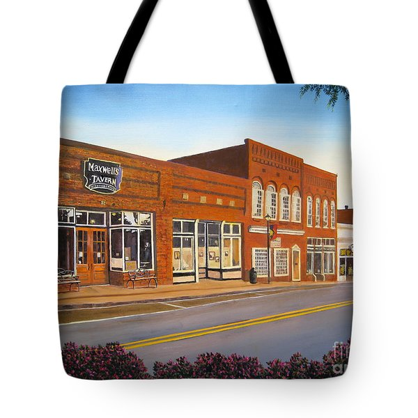 Sunday In Waxhaw Tote Bag