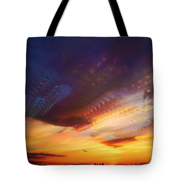 Sunday Morning Coming Down Tote Bag